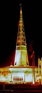 Turm des Messegebäudes in Posen, Fotograf: Hans-Joachim Orth, 1963 Herder-Institut, Marburg Bildarchiv. Inv.-Nr. 208061