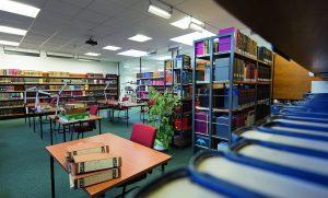 Lesesaal der Forschungsbibliothek
