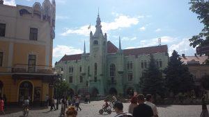 Rathaus Mukačeve, Foto: Sebastian Paul