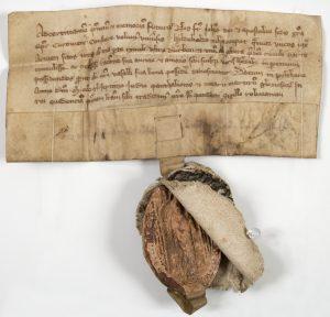 Kurländische Güterurkunde, Pilten 1347, Dokumentesammlung (DSHI 190 Kurland IV, 18)
