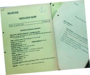 Rundfunkberichte von Radio Free Europe vom 10.12.1965, Presseausschnittsammlung des Herder-Instituts (PA-HI, P 742)