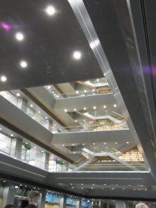 Foyer der Nationalbibliothek