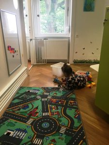 Office where Children can play while Parents are working