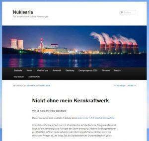Nuklearia: Nicht ohne mein Kernkraftwerk