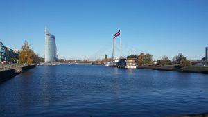 Blick auf die Daugava