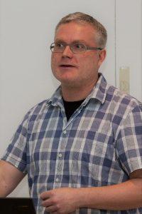 Der Referent: Dr. Martin Stark