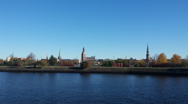 Stadtpanorama von Riga