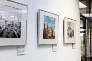 """Blick in die Ausstellung """"Kulturerbe im Fokus"""""""