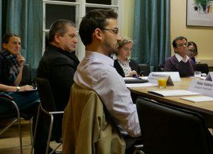 Teilnehmende der Workshops zu Forschungsdaten