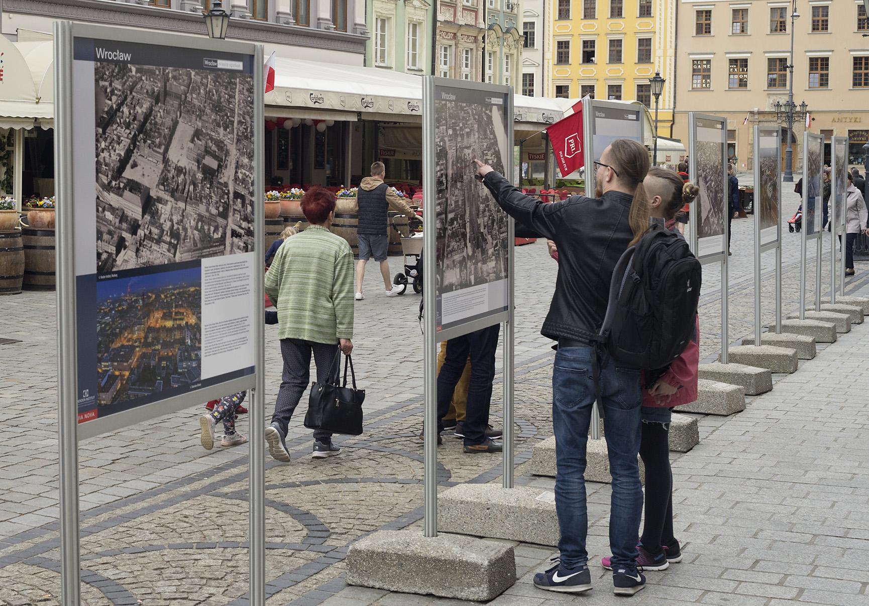 Ausstellung Städte Niederschlesiens aus der Luft, Foto: Stanisław Klimek