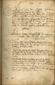 Pestordnung von Hasenpoth 1630