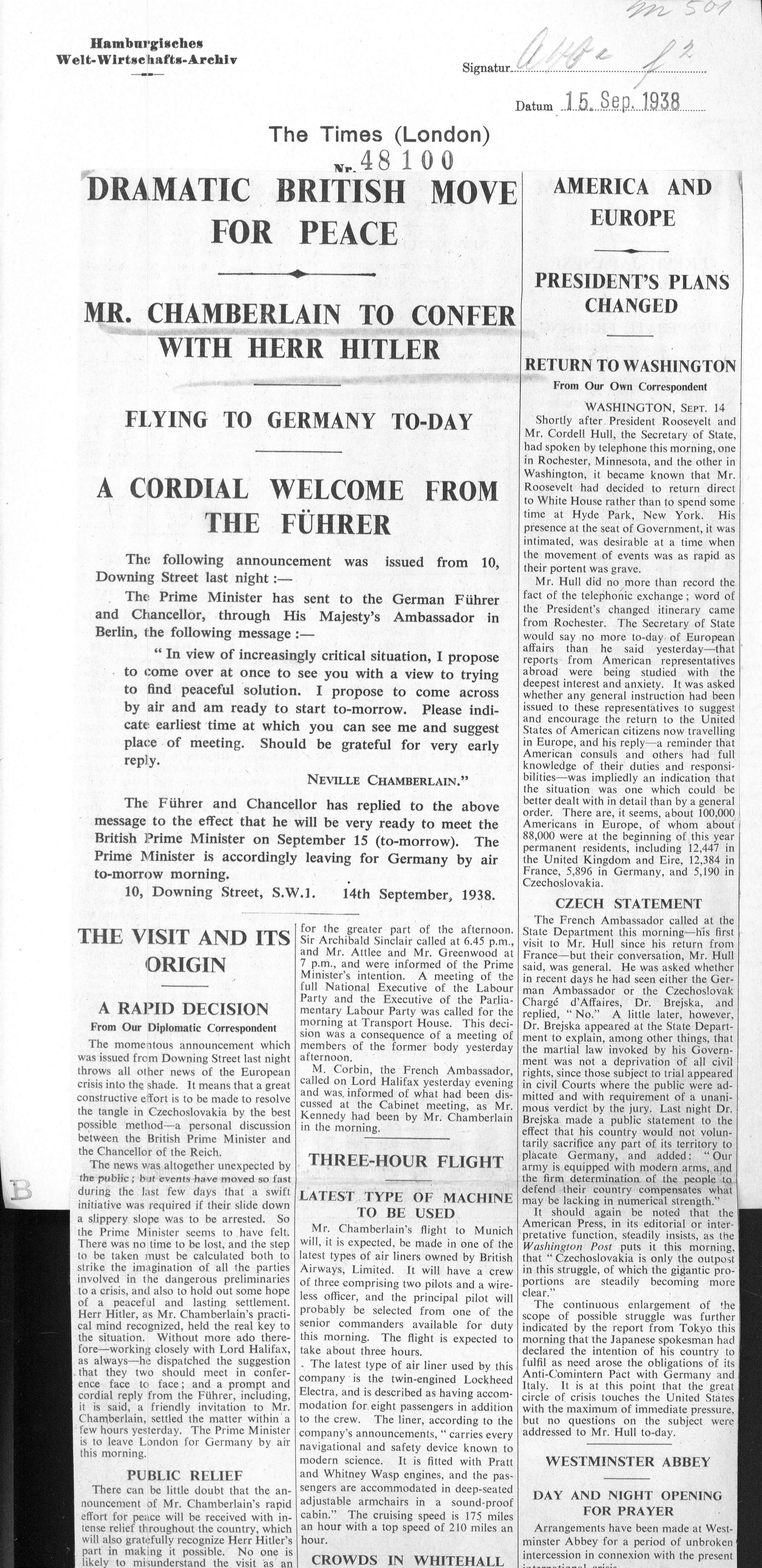 The Times (London) 1938