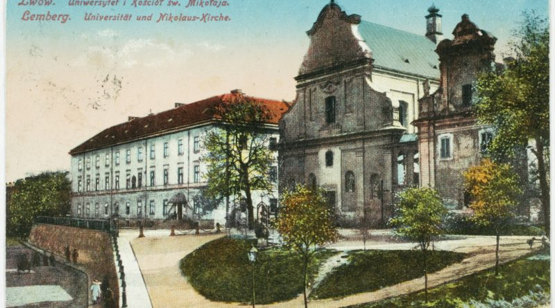 Lemberg University and St. Nicolas Church