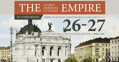 Plakat zur Tagung Imperial Cities
