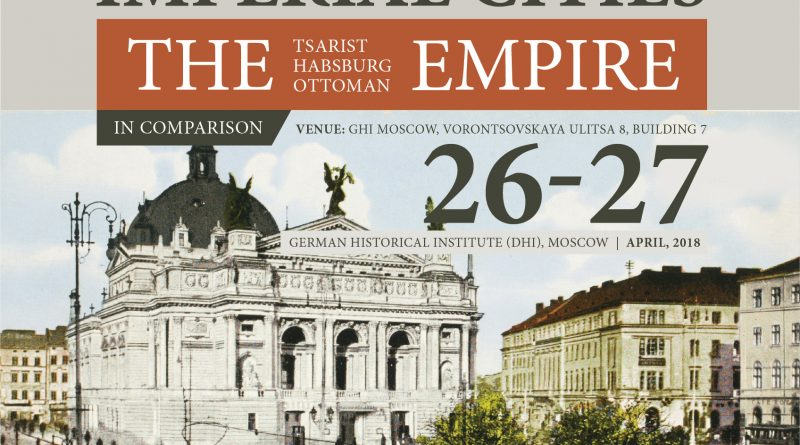 Plakat zur Tagung Imperial Cities