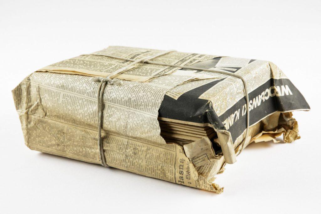 Paket mit Samizdat-Publikationen