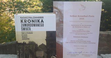Arthur-Kronthal-Preis 2018