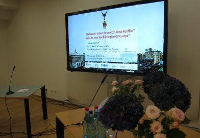 """Dialogsymposium zu """"Konfliktregionen im östlichen Europa"""""""
