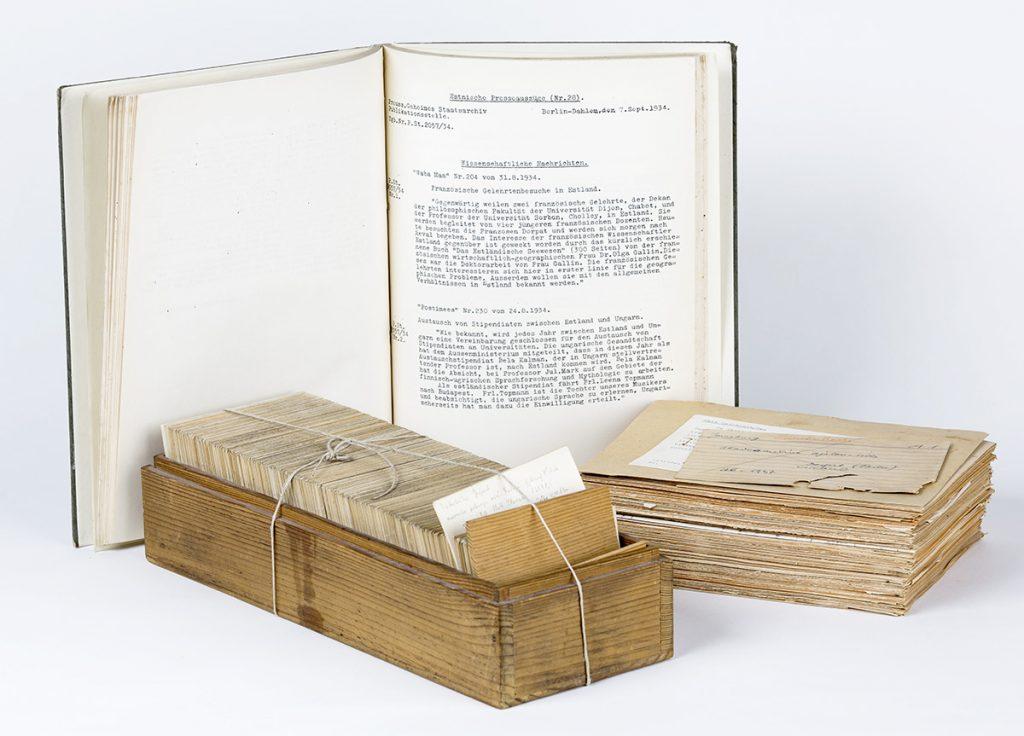 Materialien aus dem Bestand PuSte, Dokumentesammlung, Nutzungsrechte: Herder-Institut, Marburg