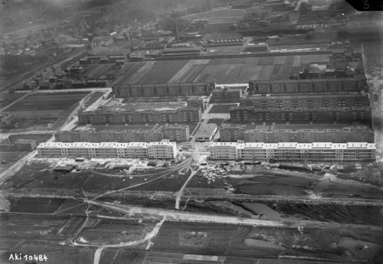 Siedlungsbau in Hindenburg/Zabrze