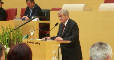 Jan Křen im Bayerischen Landtag 2014