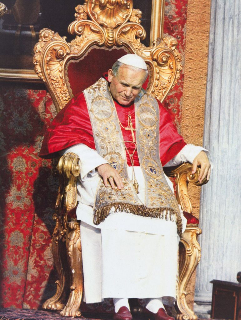Feierliche Papst-Inthronisation in Rom am 22.10.1978