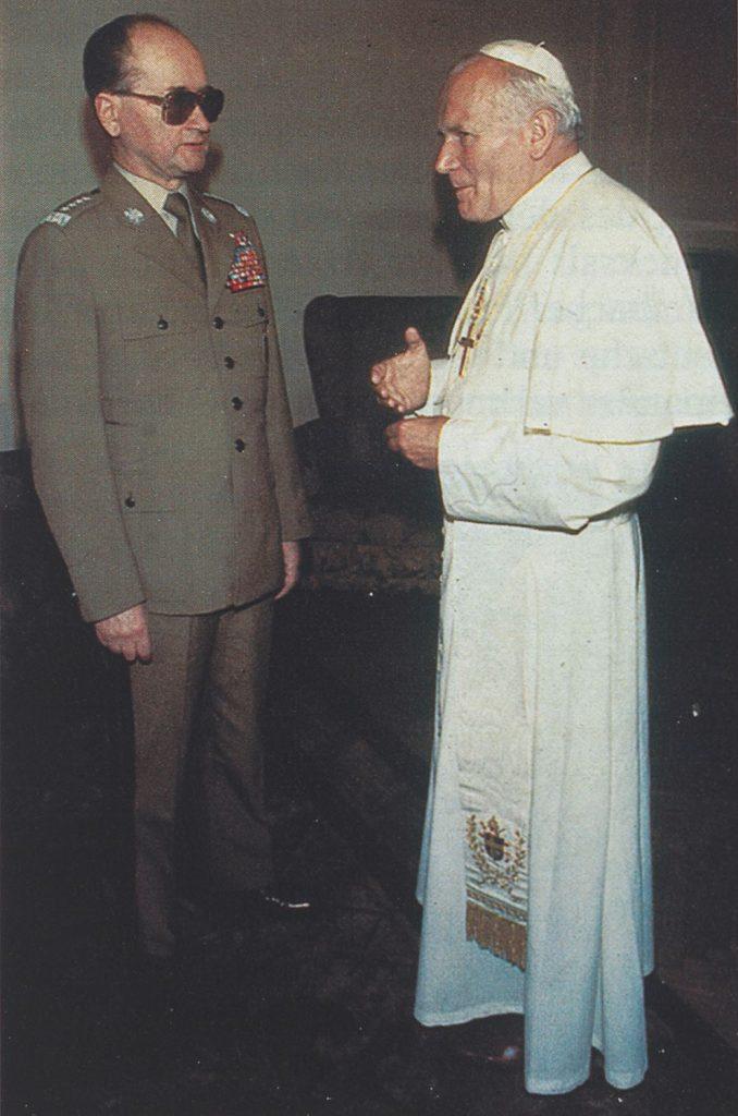 Austausch mit General Jaruzelski beim 2. Polenbesuch 1983