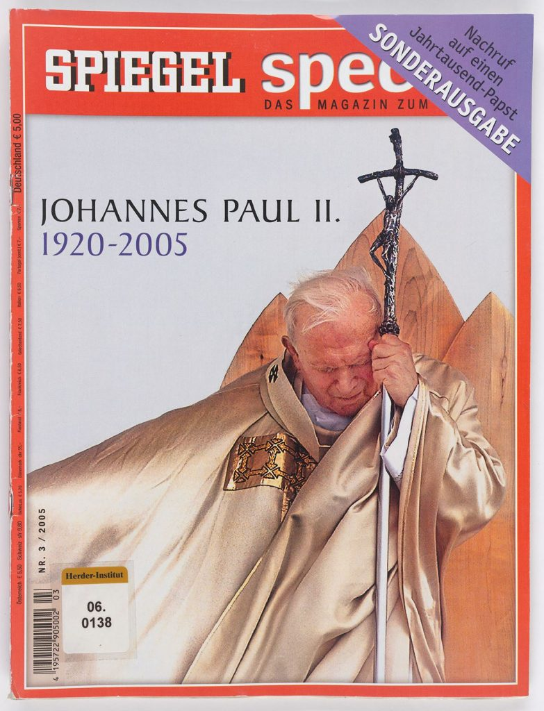 Johannes Paul II. Anfang der 1990er