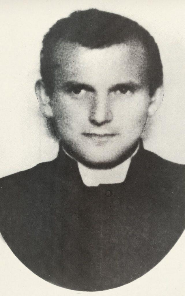 Als Seminarist 1944 in Krakau